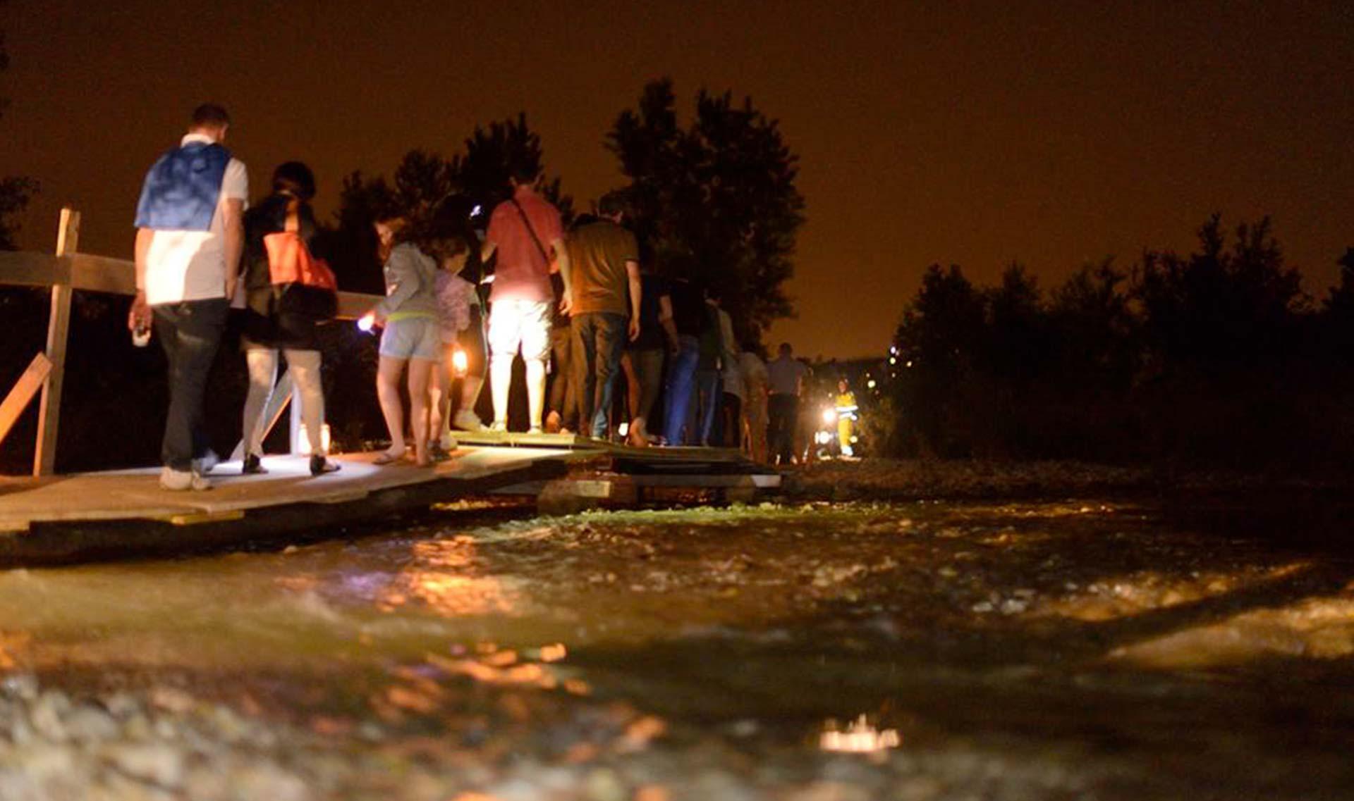 Notti d'acqua - Passeggiata lungo gli argini dell'Astico