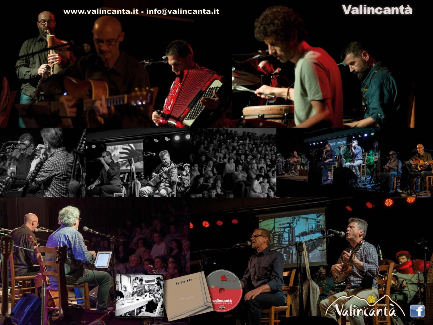 Notti d'acqua - Concerto dei VALINCANTA'